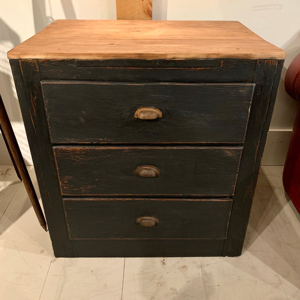 Vintage Painted 3-Drawer Chest