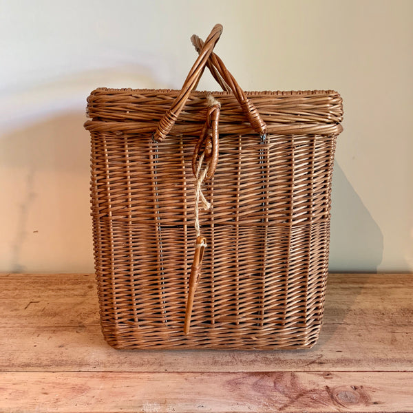 Vintage Wine Basket
