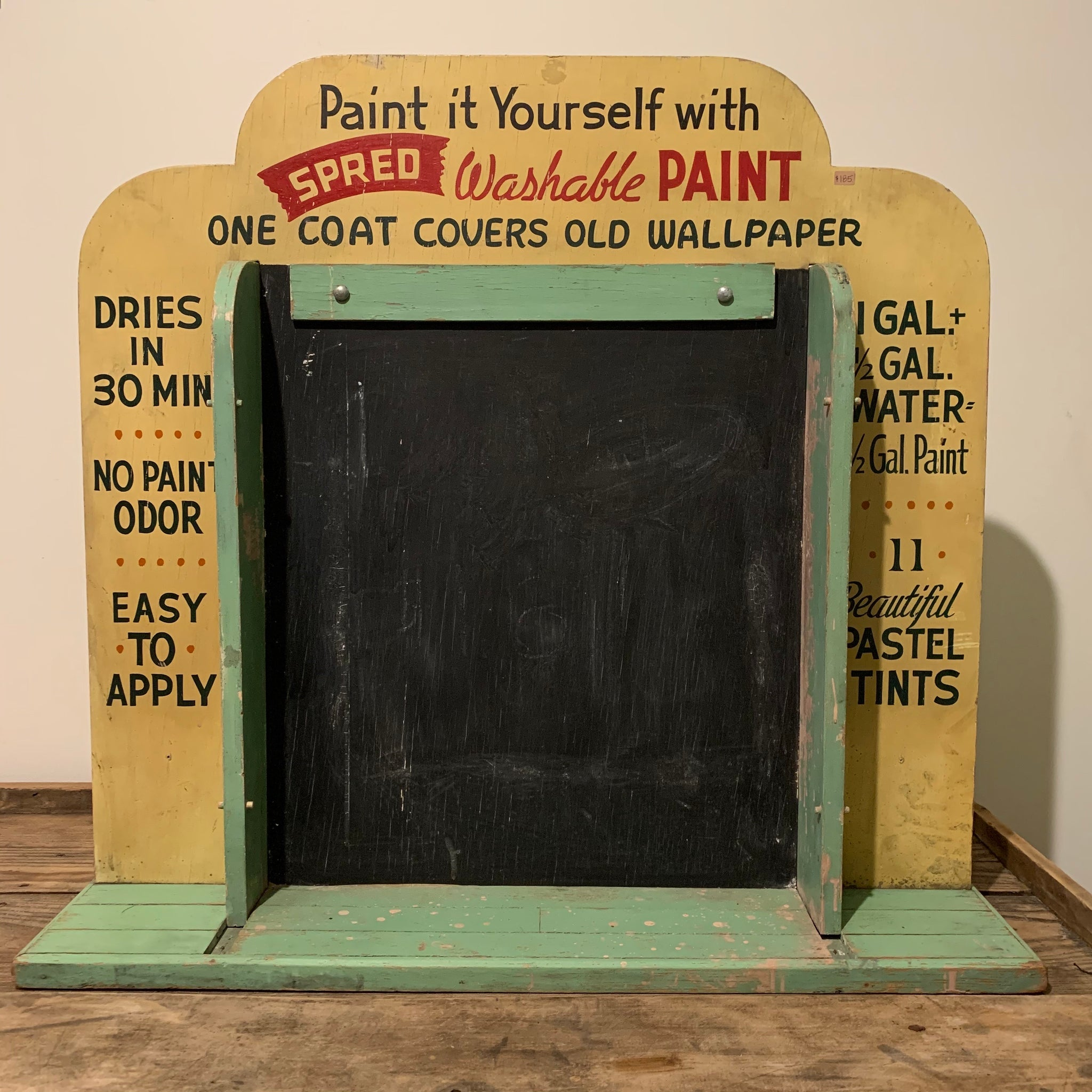Vintage Paint Store Display