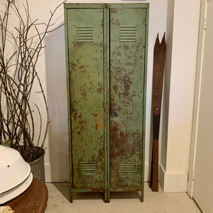 Vintage Green Lockers