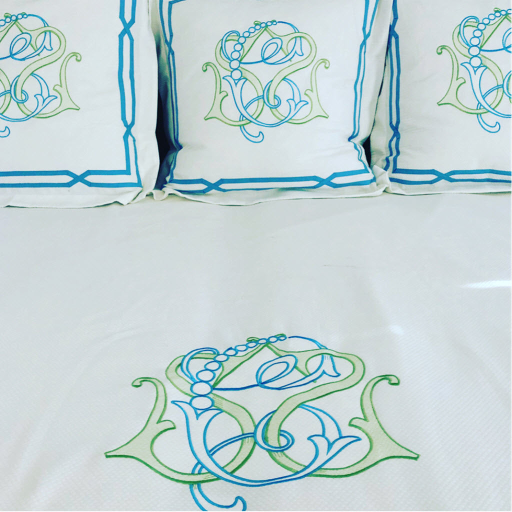 Shelby Piped Bedding Collection