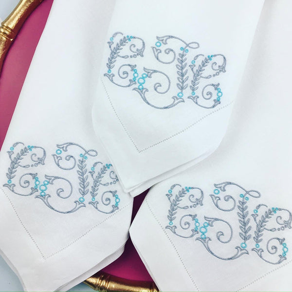 Sferra Hemstitch Dinner Napkins