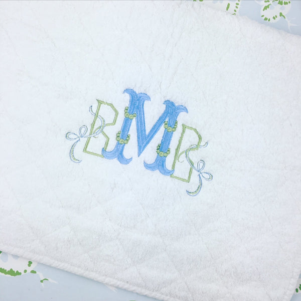 Diamond Quilt Bath Mat
