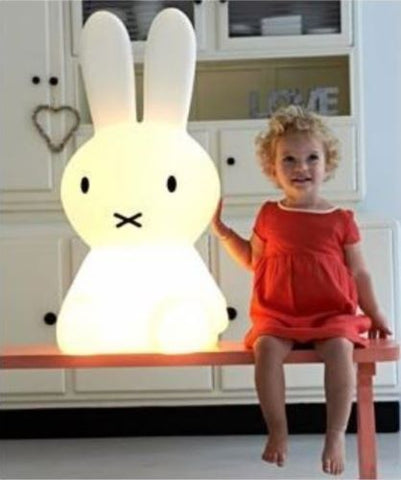 Mr Maria Miffy XL Bunny Lamp for kids room