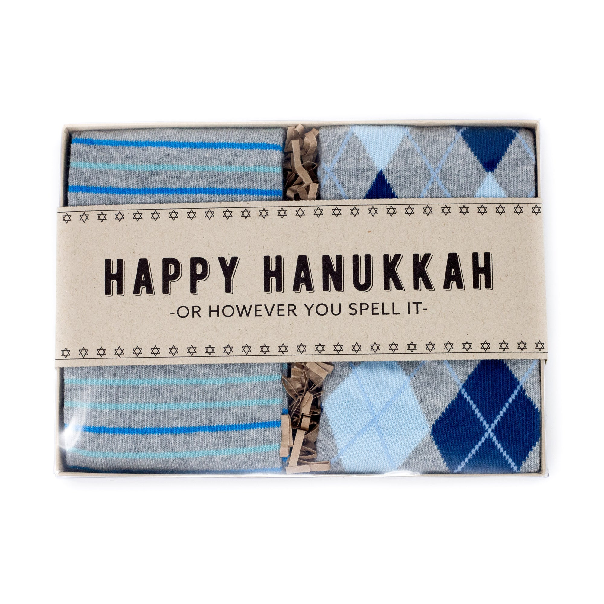 Hanukkah Sock Gift Box Set | NoColdFeet