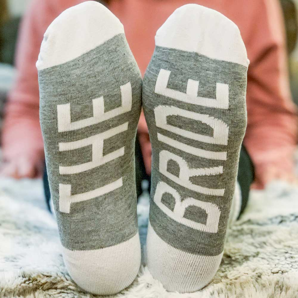 Bride and Bridesmaid Socks