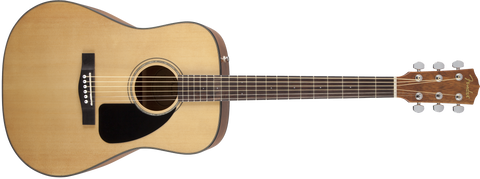 Fender CD-60 V3 Dreadnought Acoustic Guitar - Natural