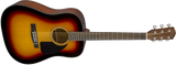 Fender CD-60 V3 Dreadnought Acoustic Guitar - Sunburst