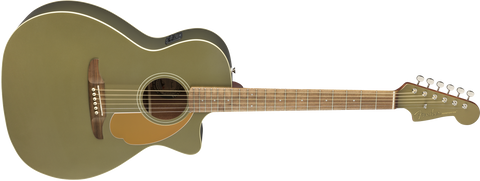 Fender Newporter Player Electro-Acoustic - Olive Satin