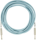 Fender 18.6ft Original Series Instrument Cable - Daphne Blue