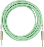 Fender 18.6ft Original Series Instrument Cable - Surf Green