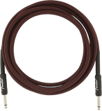 Fender 10ft Professional Series Instrument Cable - Red Tweed