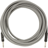 Fender 18.6ft Professional Series Instrument Cable - White Tweed