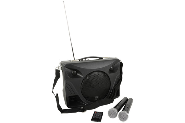 QTX Portable Desktop PA with Bluetooth