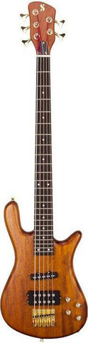 SX 5 String Natural Bass Curved Body