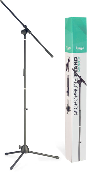 Microphone Boom Stand With Folding Legs