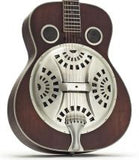 Ozark 3515DD Deluxe Wood Resonator Guitar - Distressed