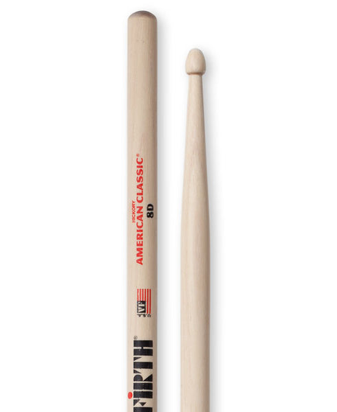 Vic Firth American Classic 8D Wood Tip