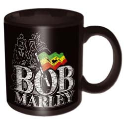 Bob Marley - Distressed Logo Mug