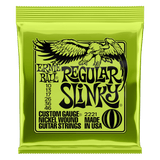 Ernie Ball REGULAR SLINKY NICKEL WOUND ELECTRIC GUITAR STRINGS - 10-46 GAUGE