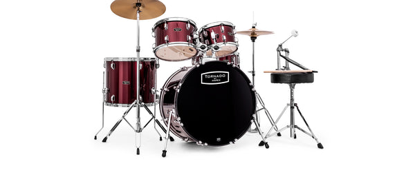 "Mapex Tornado 20"" Fusion Drum Kit - Burgundy"