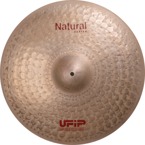 "UFIP Natural Series 18"" Crash Cymbal"