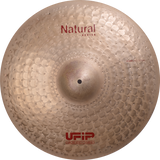 "UFIP Natural Series 17"" Crash Cymbal"