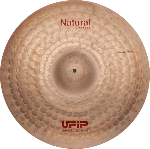 "UFIP Natural Series 22"" Crash Ride Cymbal"