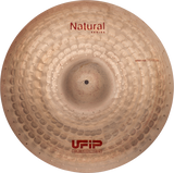 "UFIP Natural Series 20"" Crash Ride Cymbal"