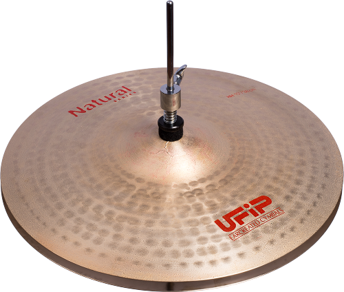 "UFIP Natural Series 14"" Medium Hi Hat"