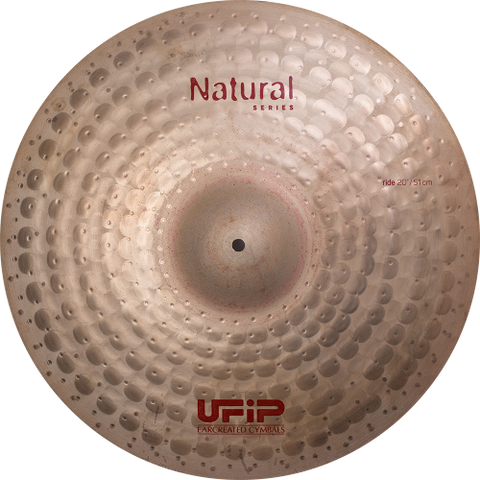 "UFIP Natural Series 20"" Light Ride Cymbal"
