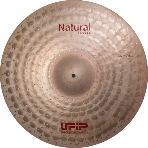 "UFIP Natural Series 20"" Medium Ride Cymbal"