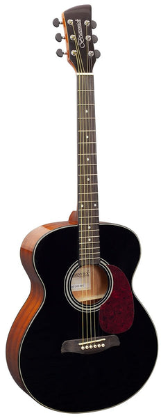 Brunswick BF200 Grand Auditorium Acoustic Guitar - Black