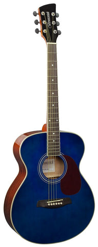 Brunswick BF200 Grand Auditorium Acoustic Guitar - Blue