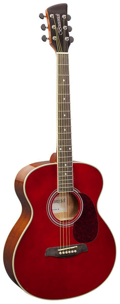 Brunswick BF200 Grand Auditorium Acoustic Guitar - Red
