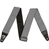 "Fender Houndstooth 2"" guitar strap - black/white"