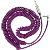 Fender Jimi Hendrix Voodoo Child coiled cable 30ft - Purple
