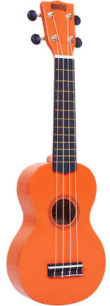 Mahalo MR1 Soprano Ukulele - Orange