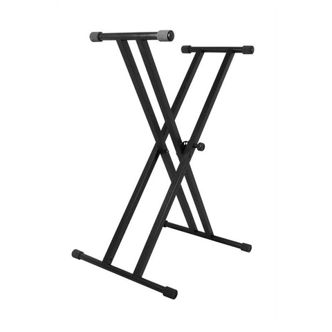 On-Stage Stands KS7191 Classic Double X Keyboard Stand