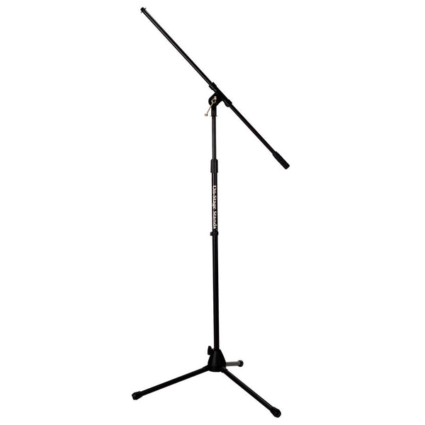 On-Stage MS7701B Black Boom Microphone Stand