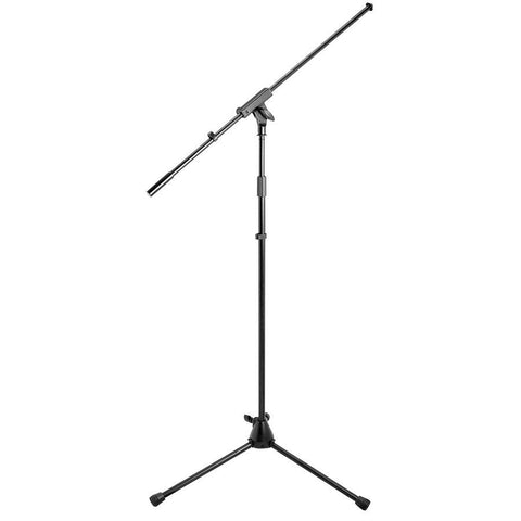 On-Stage MS9701B+ Black Boom Microphone Stand