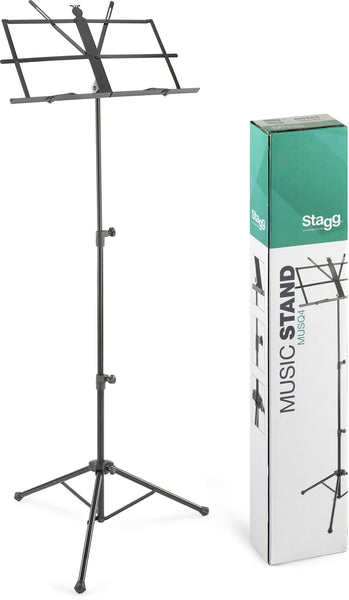 Stagg MUSQ4 Music Stand With Bag