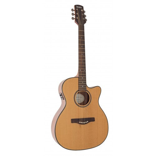 Adam Black O-3 CE Natural Electro-Acoustic Guitar