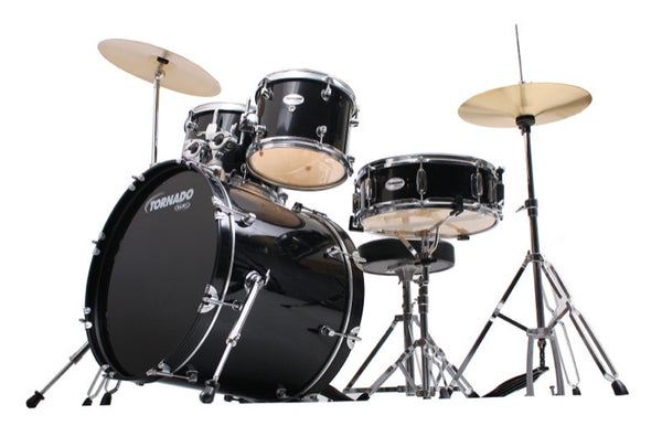 "Mapex Tornado 20"" Fusion Drum Kit  Black"