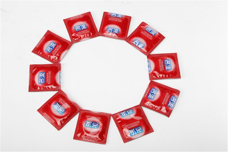 50 Pcs/Lot  Hot Sale Quality Sex Products 5 Box Of Natural Latex Condoms For Men