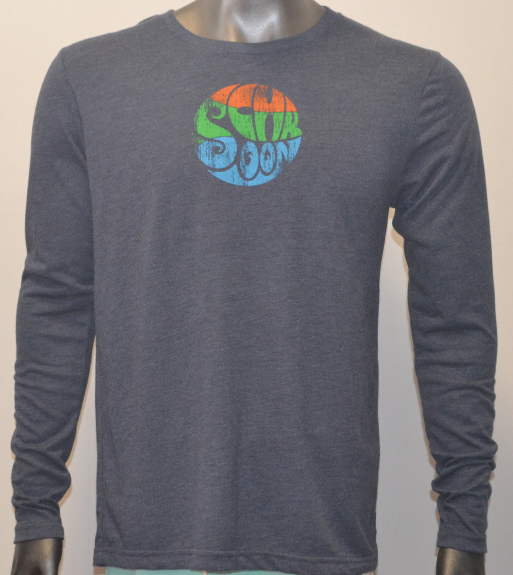 Schroon Vintage Navy Unisex Long Sleeve