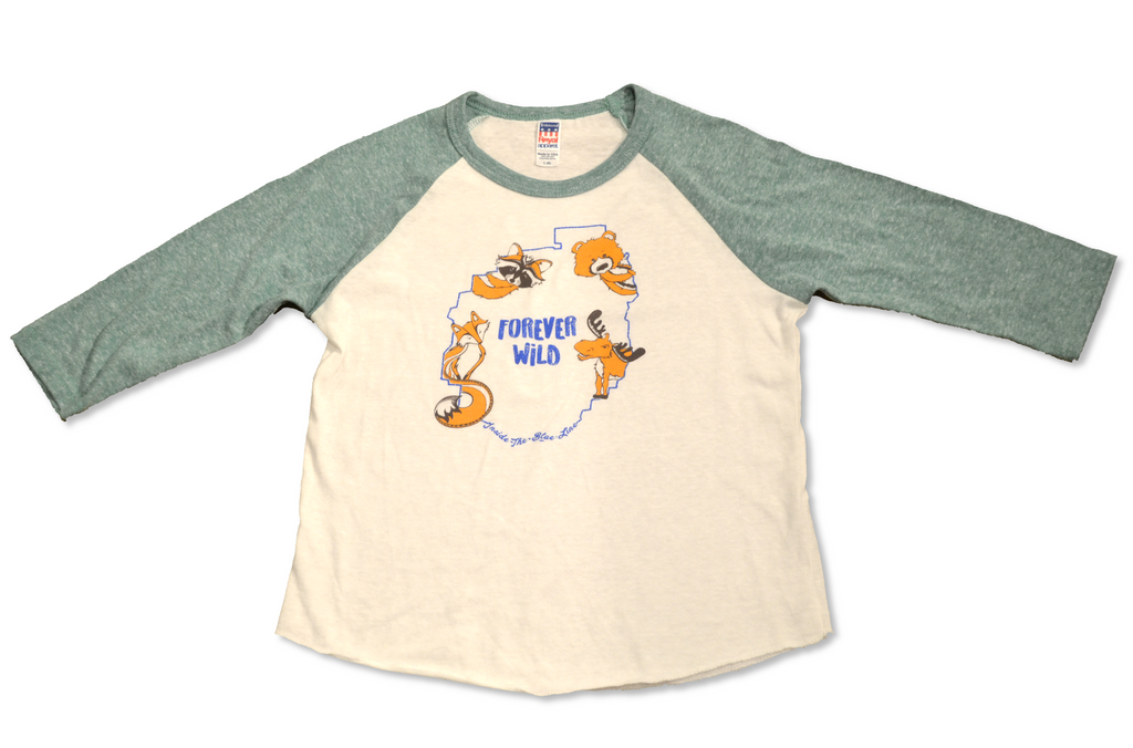 The Forever Wild Tee - Kid's T-Shirt Green
