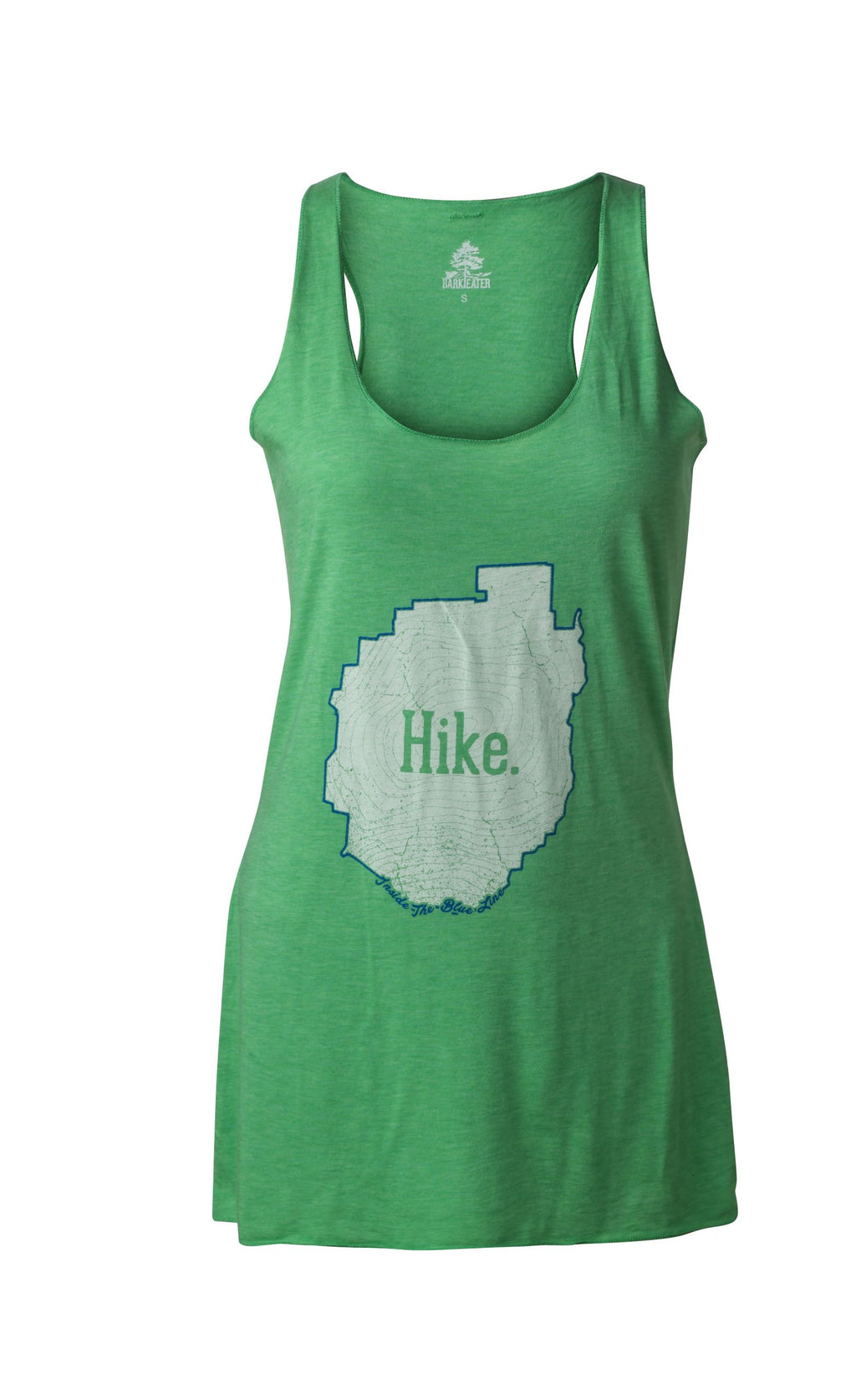 The Hike Tank - Ladies' T-Shirt Green