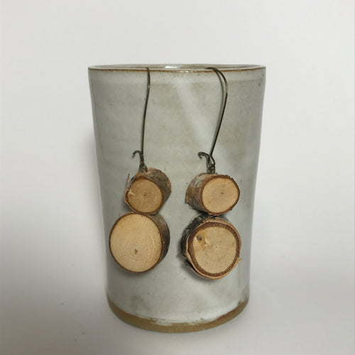 Birch Stacks Earrings