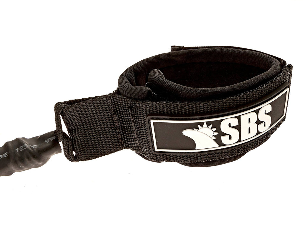 SBS - 8ft Soft Top Leash - 8' Replacement Leash For Wavestorm and other SoftTop Surfboards